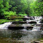 三段の滝 全景