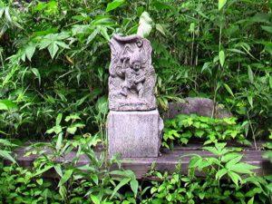 不動明王?の石像