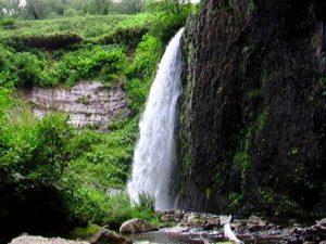 白竜の滝 全景