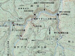 滝野すずらん公園周辺地図