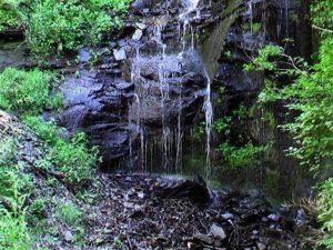 白帆の滝下部