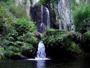小滝と積丹大滝