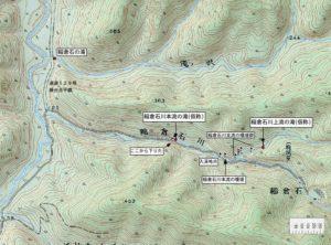 稲倉石川周辺地図