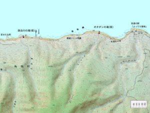 オタダシ川周辺地図