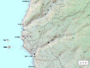 ホヤ石の滝 周辺地図