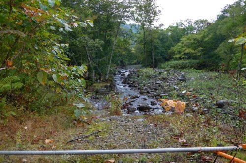 美笛川の流れ