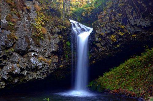 パンケの滝全景