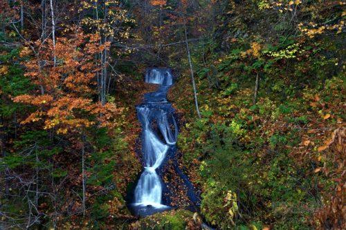 九段の滝 核心部