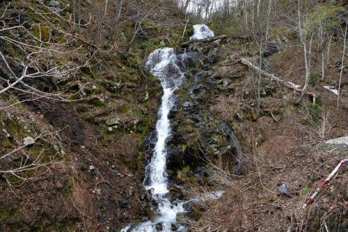 ルベシベの滝全景