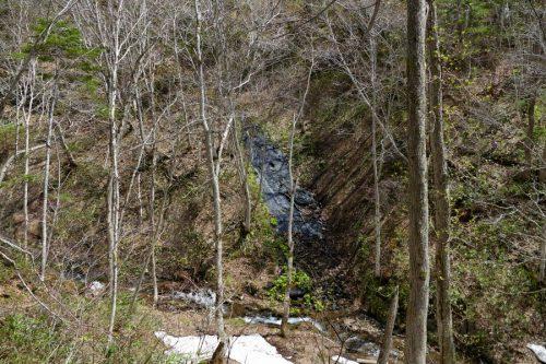 金鉱の沢別沢の滝