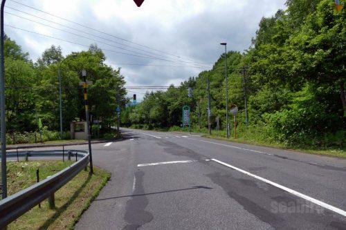 国道453号線分岐