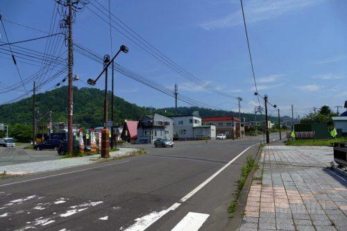 道道453号と道道2号の交差点