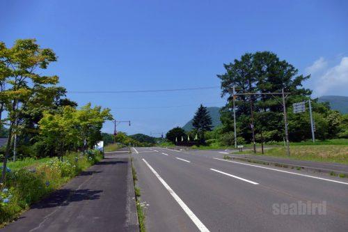 道道132号線分岐