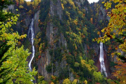 流星の滝と銀河の滝