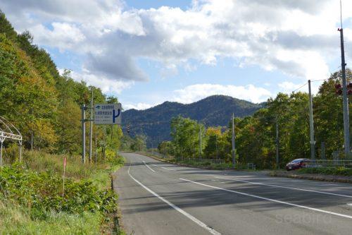 国道38号から旧国道へ