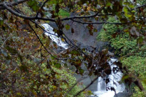 駒止の滝上段