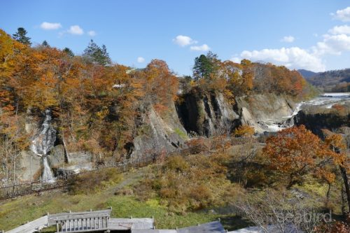 千鳥ヶ滝と無名滝