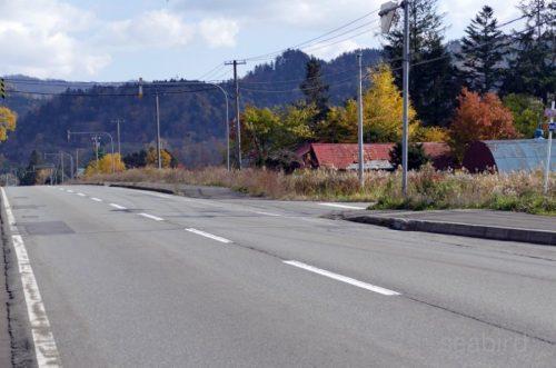 道道1165号入り口