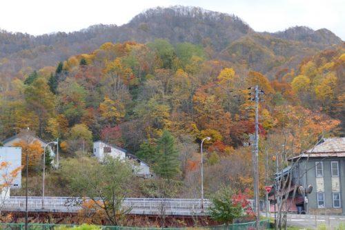栄橋と紅葉