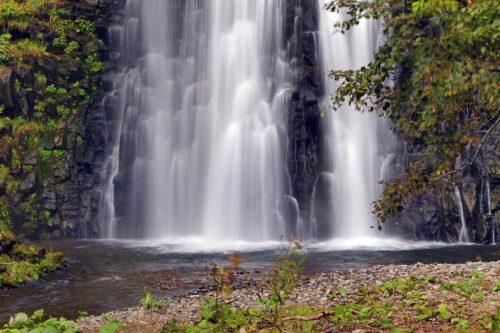 熊越の滝 滝つぼ